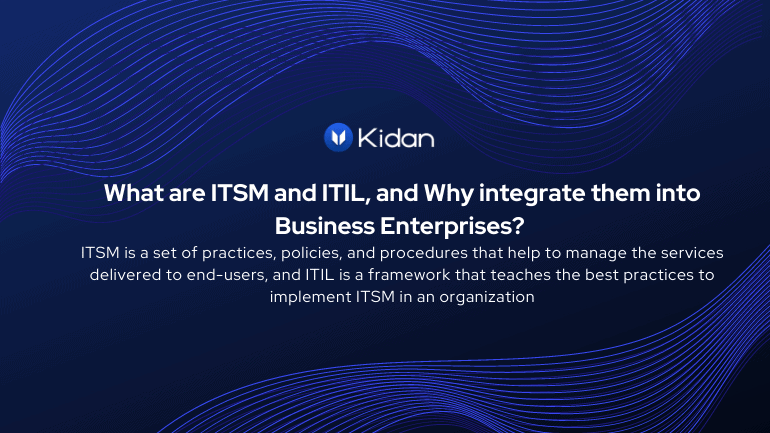 ITSM et ITIL