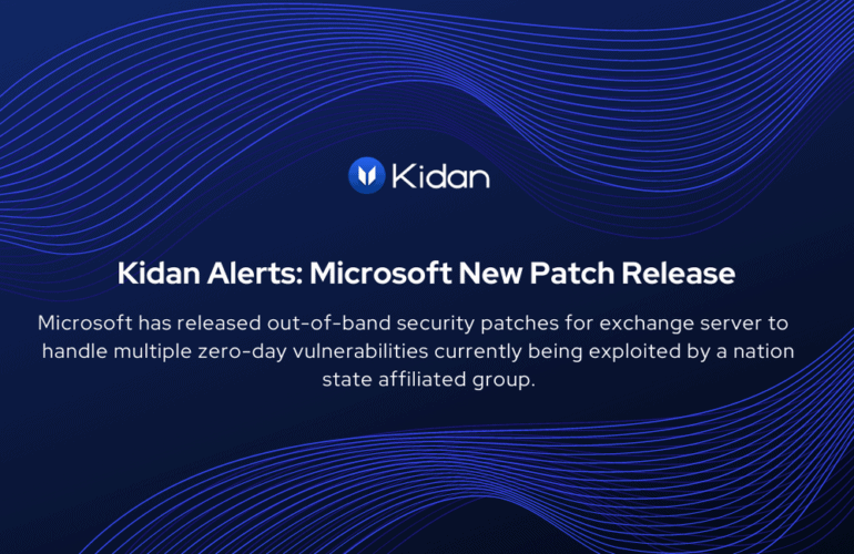 Microsoft Patch Release